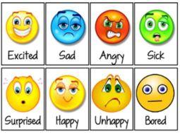 Smiley Feelings Chart