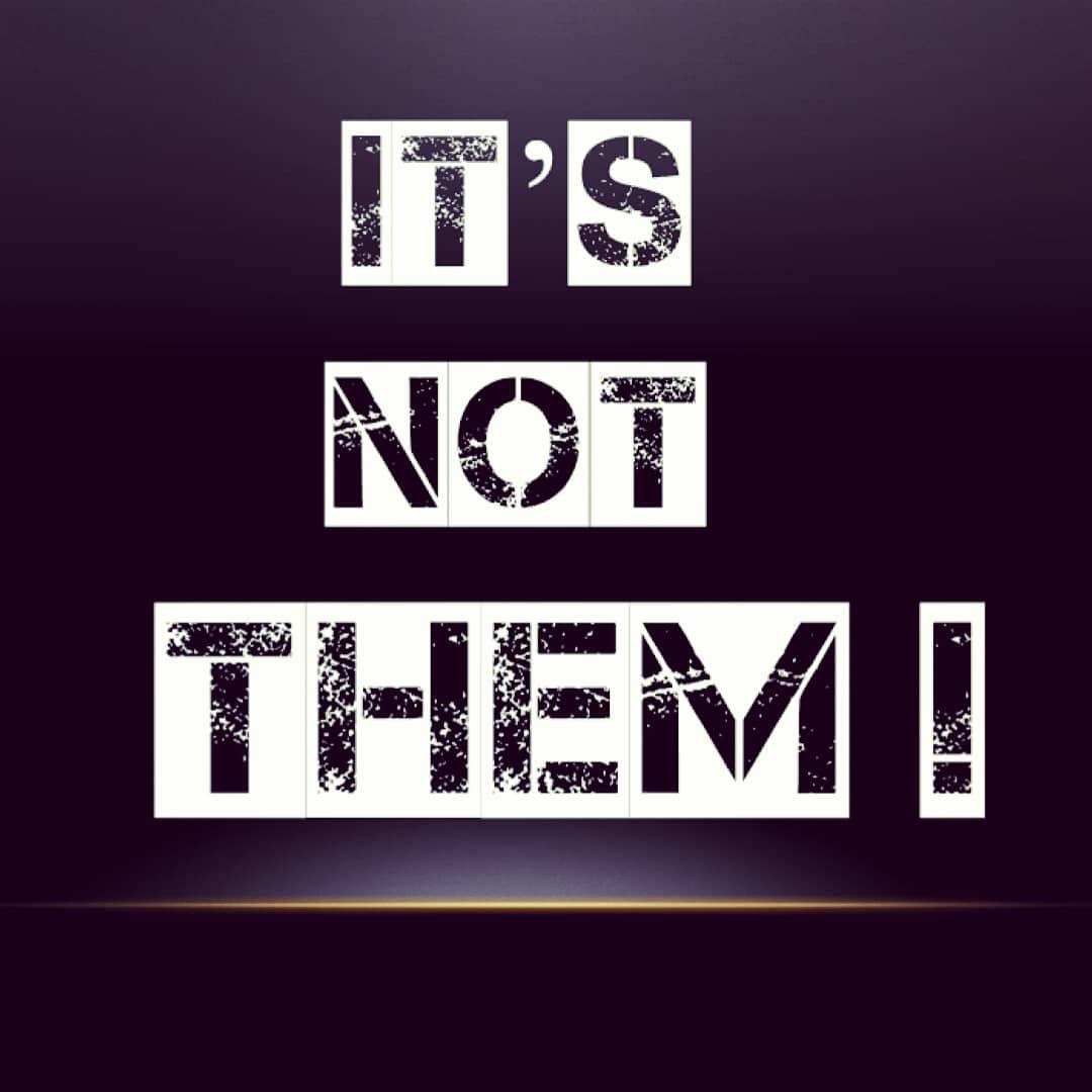 It's not them